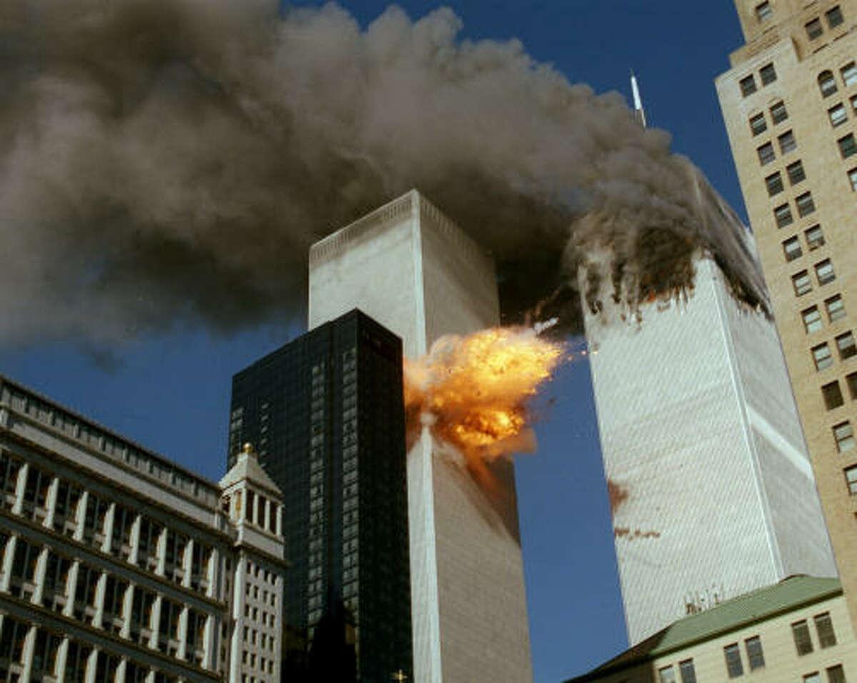 Bin Laden's murder and hate came to U.S. soil on Sept. 11, 2001, when al-Qaeda terrorist attacks killed 2,749 people.