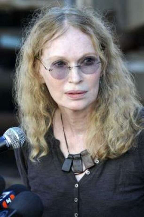 "Mia Farrow tweeted - ""PrayForNewton. Gun control is no longer debatable - it's not a 'conversation' - It's a moral mandate."" Photo: Getty Images, File Photo / 2010 Getty Images"