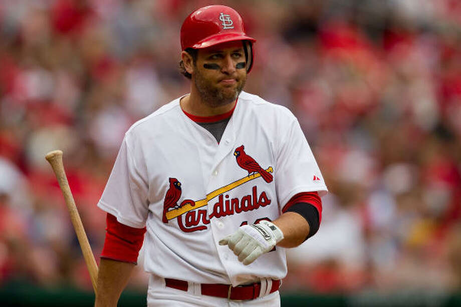 "Somewhere outside the traditional spectrum of sports enemies, from the hated antagonists to the respected adversaries to the ""why bothers,"" exists a special class: the friends-turned-enemies. That's the group that the Cardinals' Lance Berkman will represent when he sets foot in Minute Maid Park  for the first time as a visiting player.  He will just be the latest in an era when such returns are normally mundane. The number fluctuates with call-ups and injuries but because of free agency, waivers, releases and trades, roughly 21 teams' active rosters contain at least one former Astro or Astros prospect. So even within the large crop of friends-turned-enemies, there is a spectrum.  The last notable return to Minute Maid Park that featured this level of anticipation was that of Carlos Beltran in 2005, who spurned the Astros' offer to sign a seven-year, $119 million contract. He was jeered the entire game and the entire series, both while at the plate and while in the field.  Berkman, who left via the trade, which is a key distinction and perhaps the key distinction in how returning players are received, will almost surely be welcomed warmly at the ballpark he called home since it opened in 2000. His replica jersey - Astros version, not Cardinals - could be the most visible at the ballpark, not that it isn't close some nights when the Cardinals aren't in town. And expect a loving round of cheers when his name is first announced.  It won't be the first such warm welcome, but it's not like Houston always takes back her former friends with open arms. Here are some of the notable returns, either for their reception or for the player's or coach's reaction. Photo: Dilip Vishwanat, Getty Images"