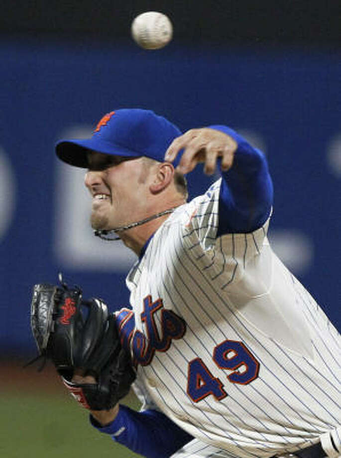 Mets starter Jonathon Niese allowed two runs over six innings. Photo: Frank Franklin II, AP