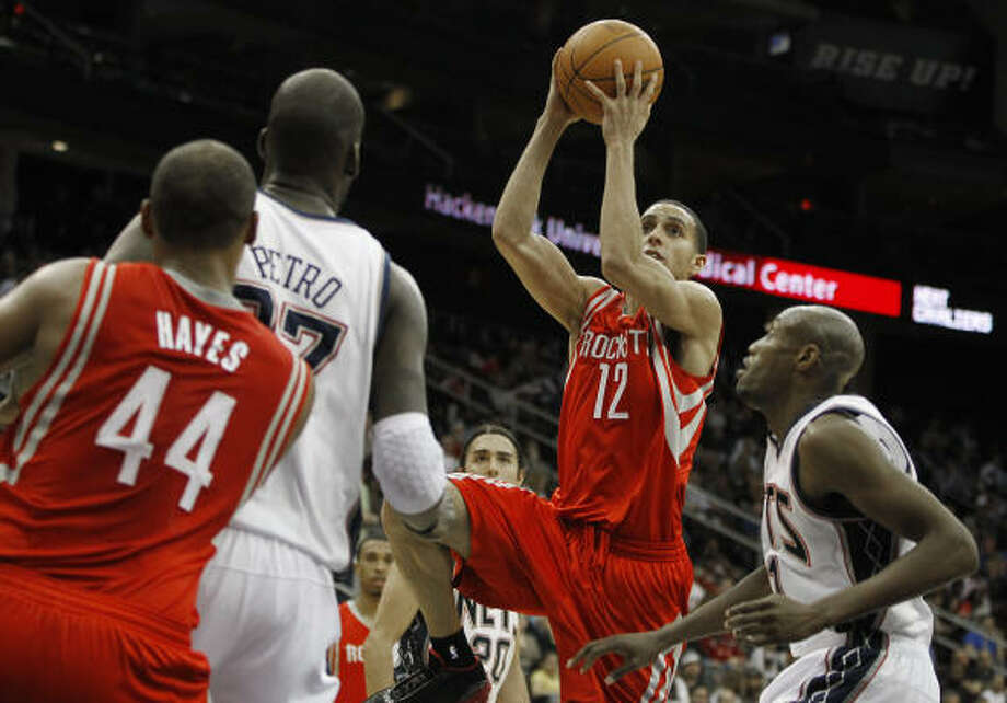 Good Rockets win 12 of first 16 games after the break to move into playoff contention. Photo: Julio Cortez, AP
