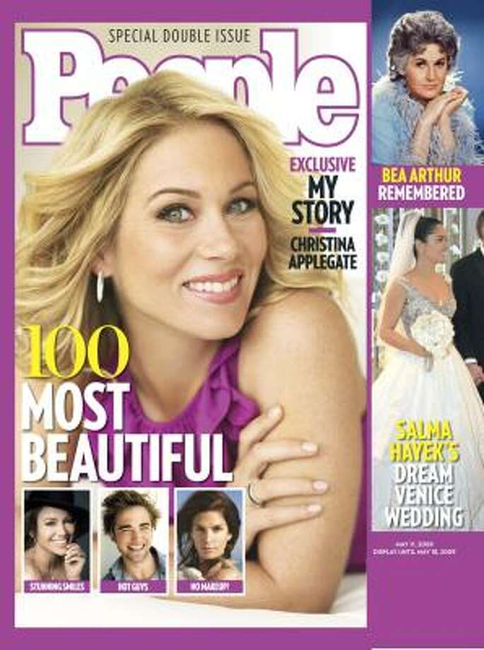 Christina Applegate's cover made the list of Most Beautiful Cover Stars. Photo: Anonymous, ASSOCIATED PRESS