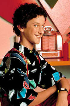 Dustin Diamond, 1990, age 13.