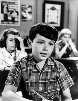 Jerry Mathers, 1961, age 13.