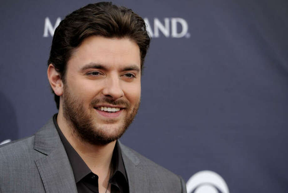 Chris Young arrives. Photo: Chris Pizzello, ASSOCIATED PRESS