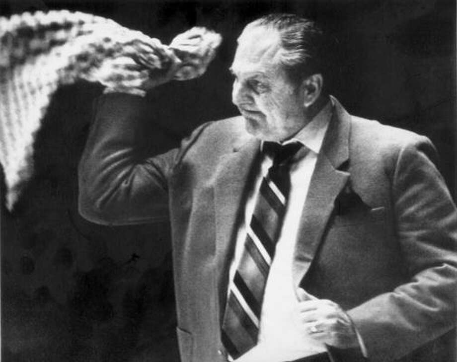 Guy V. LewisLewis led UH to 27 consecutive winning seasons and had 14 seasons of 20 or more wins. His teams made 14 appearances in the NCAA Tournament and appeared in the national championship game in 1983 and 1984. Photo: AP File Photo