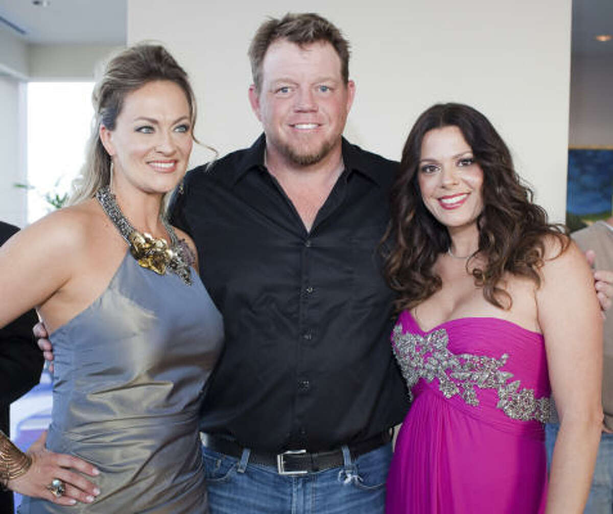 Rachel Regan, Pat Green and Lisa Oren