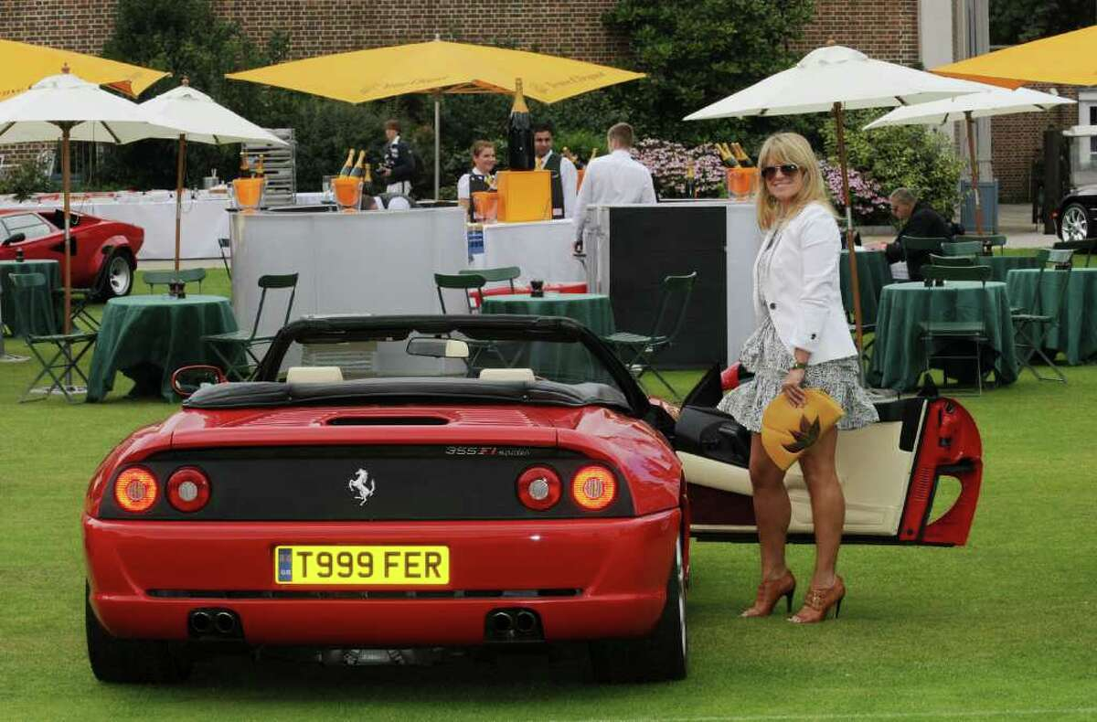 LONDON, UNITED KINGDOM - JULY 27: A general view of atmosphere during Concours D'Elegance at The Hurlingham Club on July 27, 2011 in London, England.