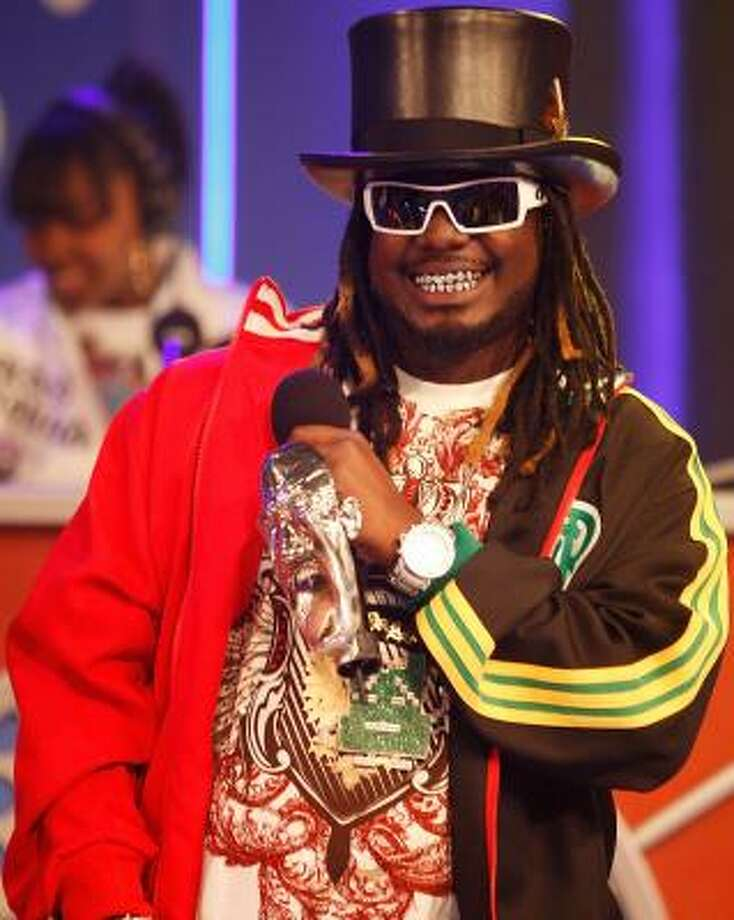 T-Pain's vocals are popping up on other artists' songs. Photo: MATT CARR, GETTY IMAGES