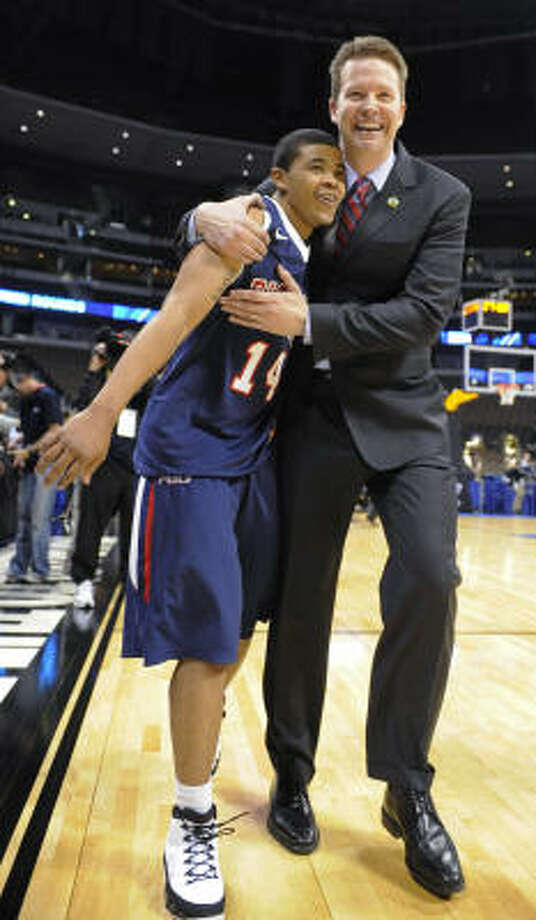 5.Watch as every school with a coaching vacancy sniffs around VCU's Shaka Smart and Richmond's Chris Mooney (pictured) in the coming days and weeks. Photo: Jack Dempsey, AP