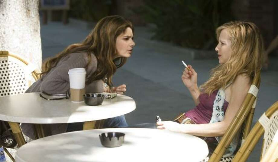 Laura San Giacomo, left, and Holly Hunter star in TNT's Saving Grace. Photo: ERIK HEINILA, TNT