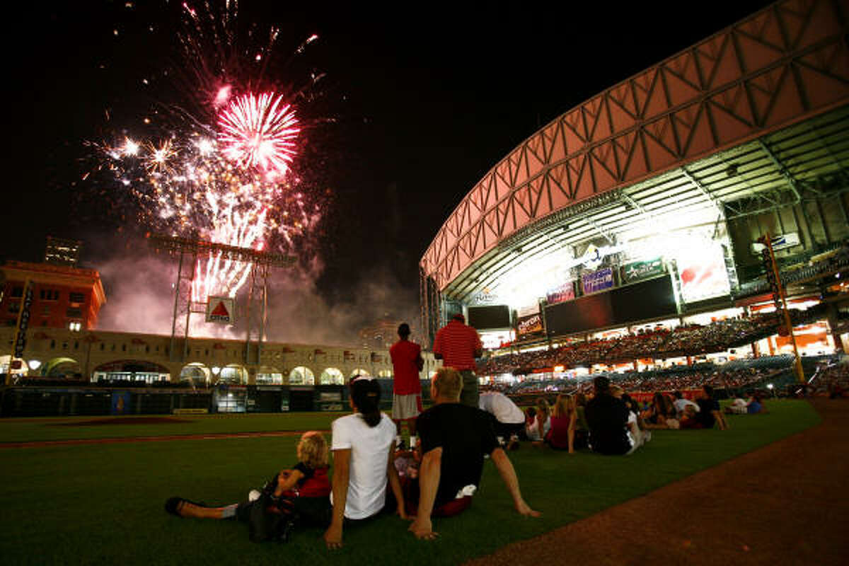 Will there be fireworks for the Houston Astros this season? Or will it be the rebuilding year many are expecting? We take a look at the Astros season, series-by-series, in pictures.