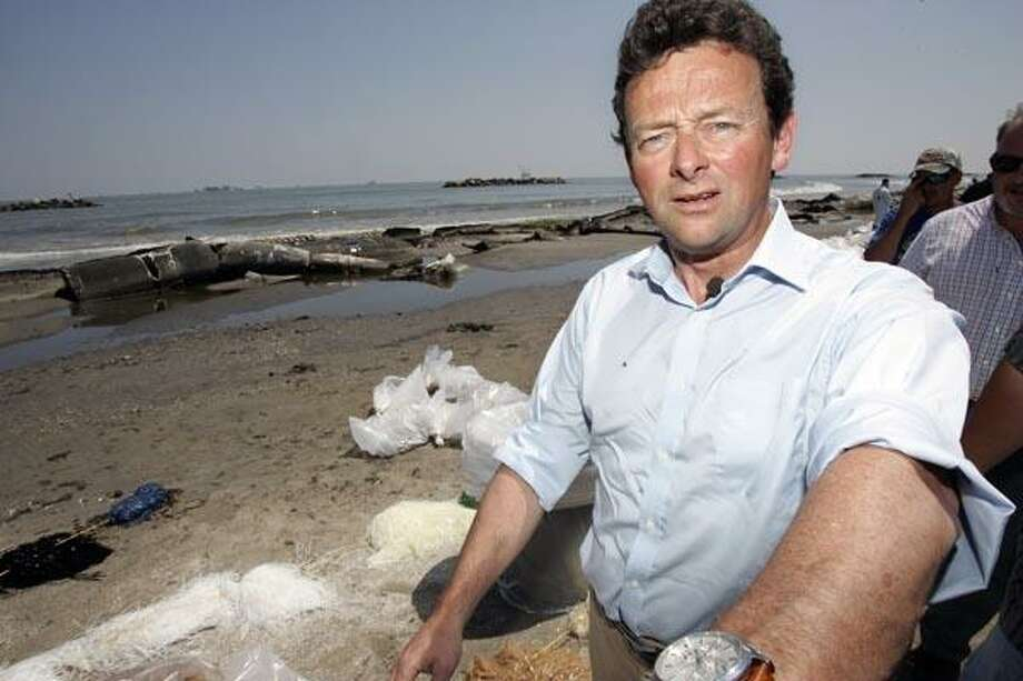 BP Chief Executive Officer Tony Hayward, who later resigned Photo: Patrick Semansky, AP