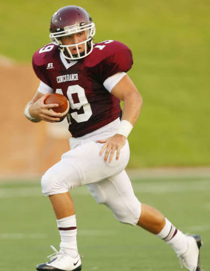 Cinco Ranch running back Adam Hirtz was named the High School Player of the Week. Photo: Margaret Bowles, Freelance