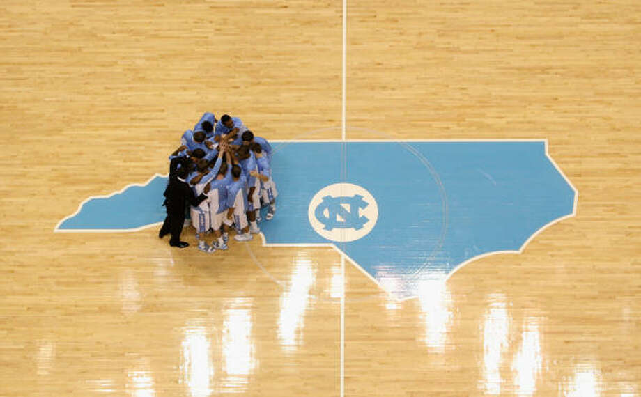 North Carolina Tar HeelsPerennial powerhouse North Carolina is coming off a Saturday victory over Duke that gave the Tar Heels the outright ACC regular-season championship. Photo: Streeter Lecka, Getty Images
