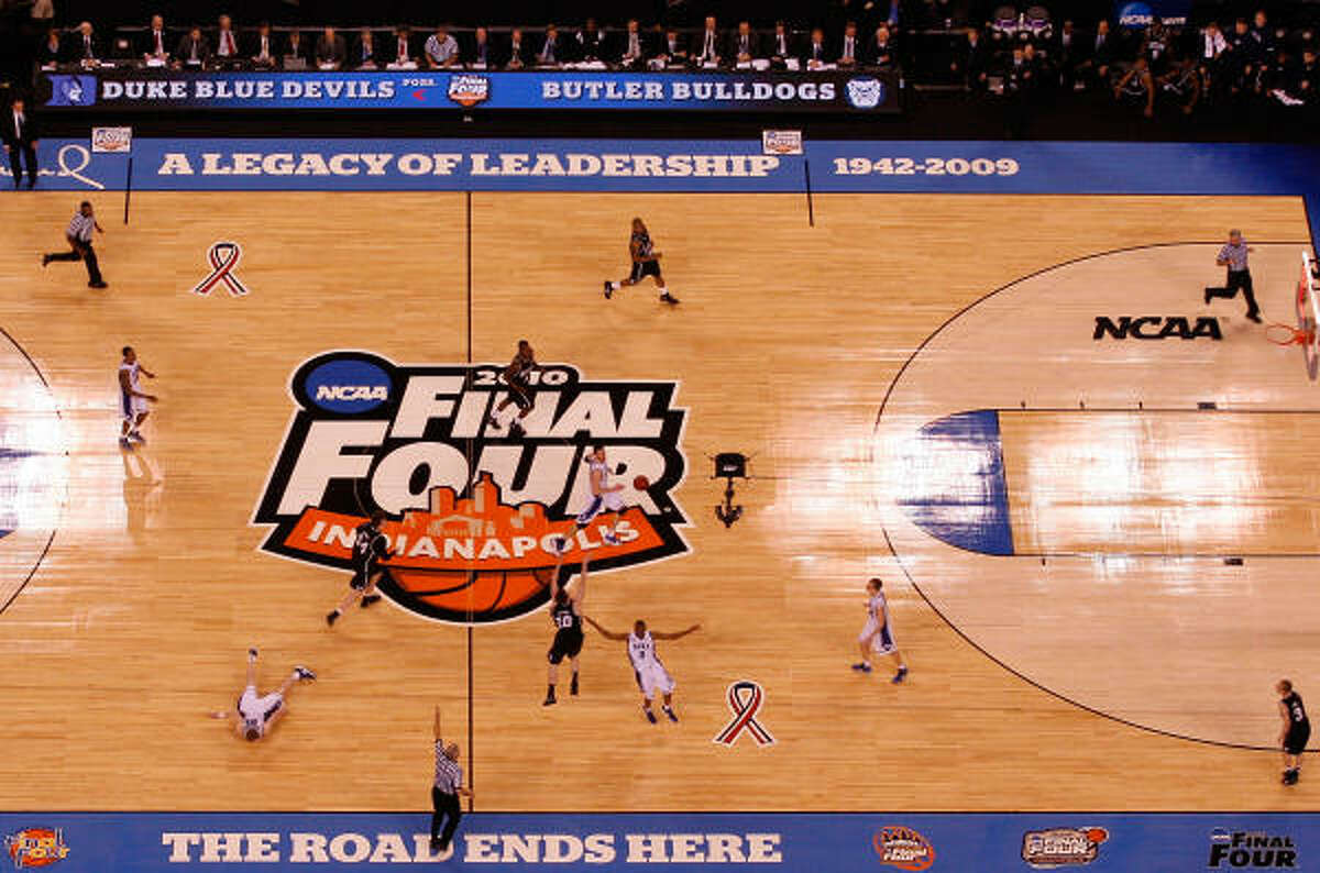 Last year, the national championship game was a thriller. Butler's Gordon Hayward missed this last-second half-court shot to allow Duke to win 61-59 and capture the national title. Will Houston get as lucky as Indianapolis and have another thriller? We'll find out shortly. Here, we give you 10 teams that we think can make the Final Four in Houston.