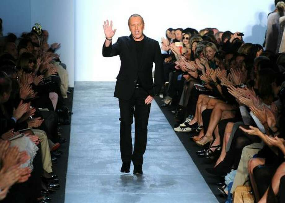 Michael Kors introduces his Fall 2011 collection during Mercedes-Benz Fashion Week. Photo: Frazer Harrison, Getty Images For IMG