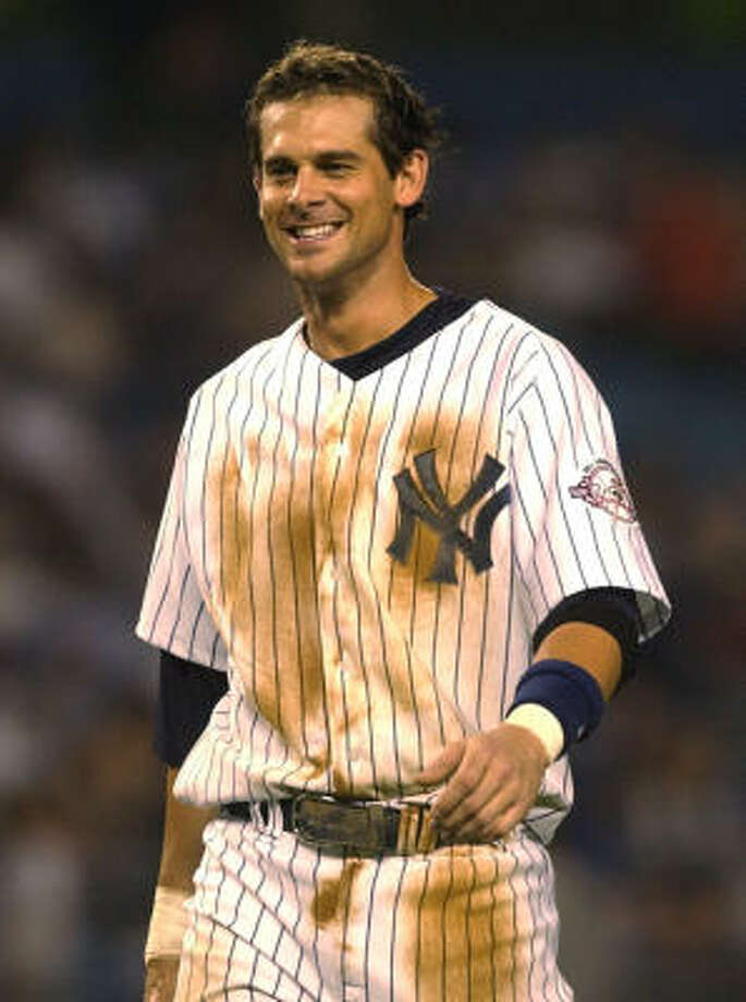 Aaron Boone helped the New York Yankees reach the 2003 World Series, where they fell to the Florida Marlins. Photo: KATHY WILLENS, AP