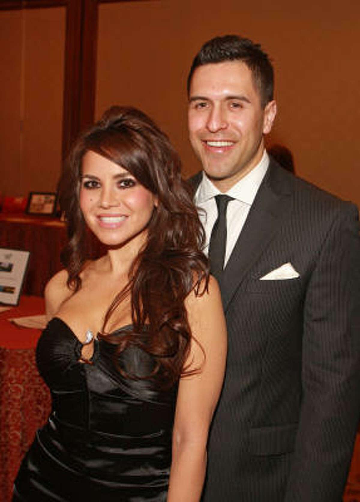 Corinne Rodriguez and Trae Mindiola