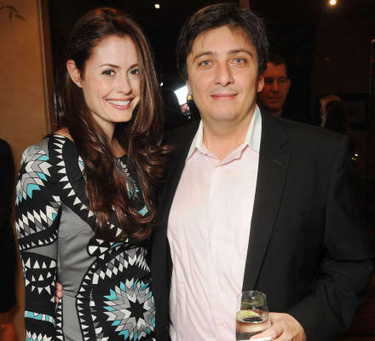 Christin and Ugo Tombolini