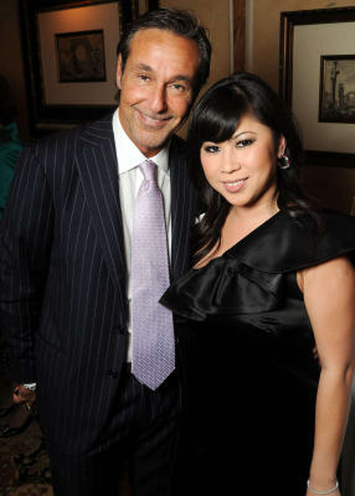 Gianni Schapira and Victoria Nguyen