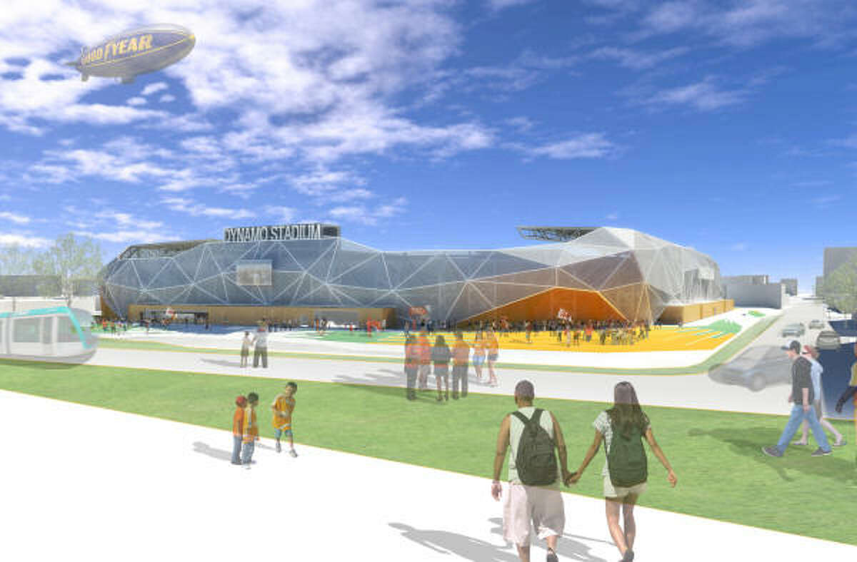 Populous, which was previously called HOK Sports, will design the stadium. The company also designed Minute Maid Park, Toyota Center and Reliant Stadium.