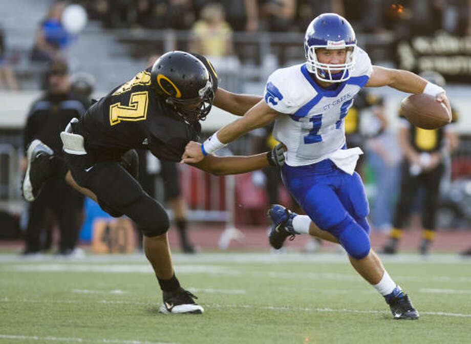 Nathan Hughes, DL, Klein Oak Height: 6-6 Weight: 255 Destination: Oklahoma Photo: Nick De La Torre, Chronicle