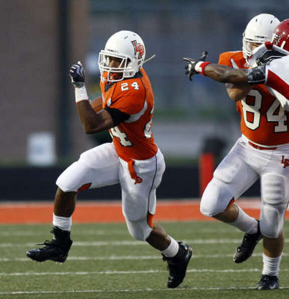Anthony Webb, RB, La Porte Height: 5-10 Weight: 180 Destinat