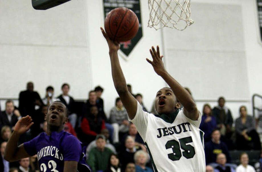 Strake Jesuit's Rasheed Sulaimon finished with 19 points. Photo: Bob Levey
