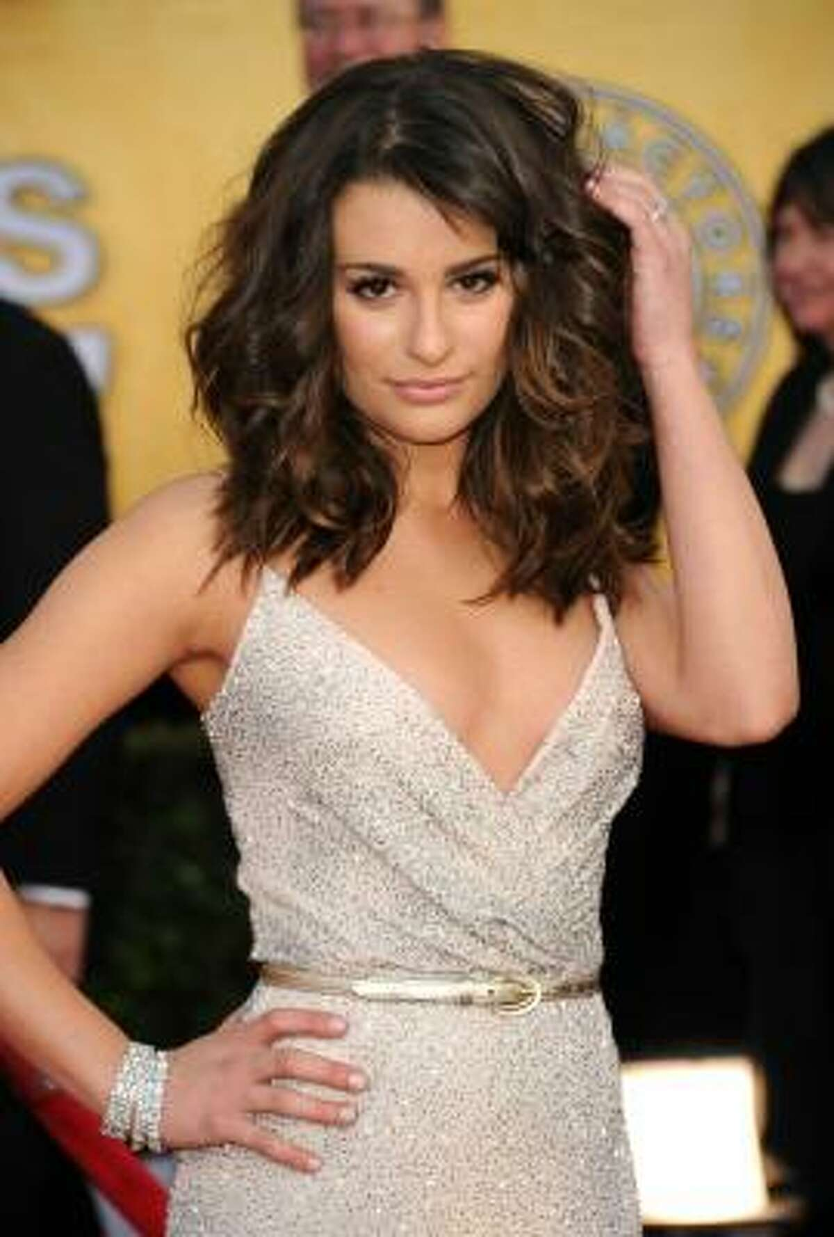 Actress Lea Michele