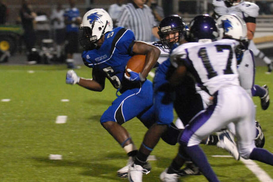 DeKaney running back Trey Williams scored four of his team's seven touchdowns. Photo: Craig Prejean, For The Chronicle