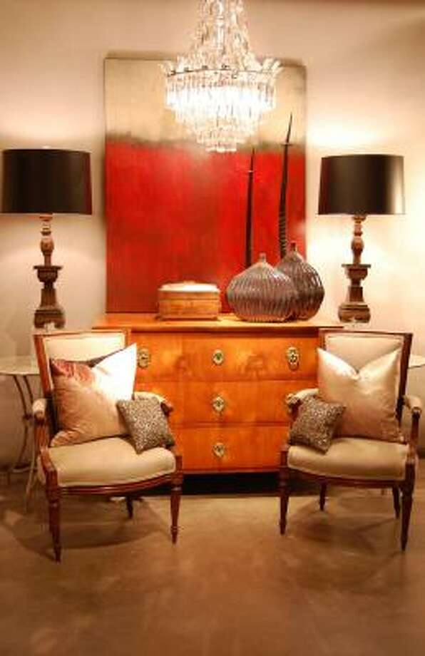 Vieux's red vignette shows the shop's sophisticated style. Photo: Nasyim Segal