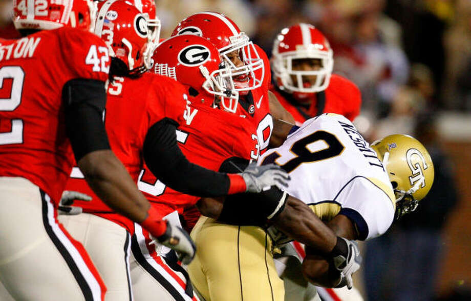 The Georgia Bulldogs rank 30th nationally in total defense. Photo: Kevin C. Cox, Getty Images