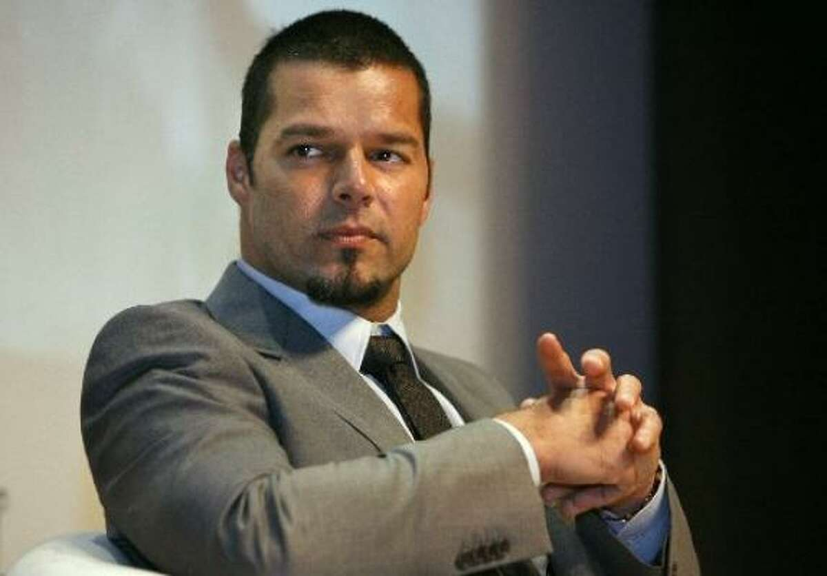Ricky Martin : In a blog post on his website, he professed (after years of dogged speculation) that