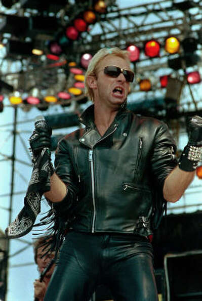 Rob Halford, former frontman for metal band Judas Priest: During a 1998 MTV interview, Halfor