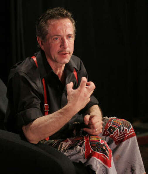 Clive Barker, author: The master of horror/fantasy/sci fi was surprised by the public reactio