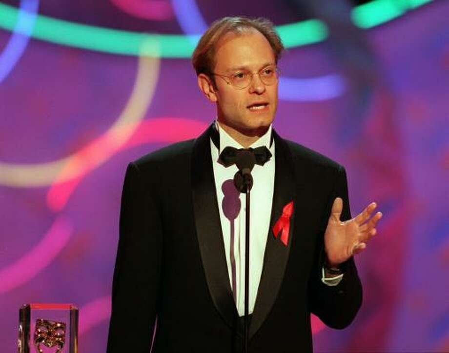 "David Hyde-Pierce: After hit show Frasier debuted, Hyde-Pierce claimed ""Basically I don't talk about my personal life."" Then after years of pressure from the gay press, he came out through his publicist and confirmed his long-time relationship with a producer/director. Photo: JEFFREY MAYER, AP"