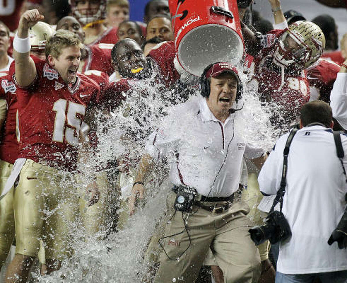 Chick-fil-A Bowl Dec. 31: Florida State 27, South Carolina 16 Head coach Jimbo Fisher led Florida State to a bowl victory in his first year at the helm, finishing the season 10-4.