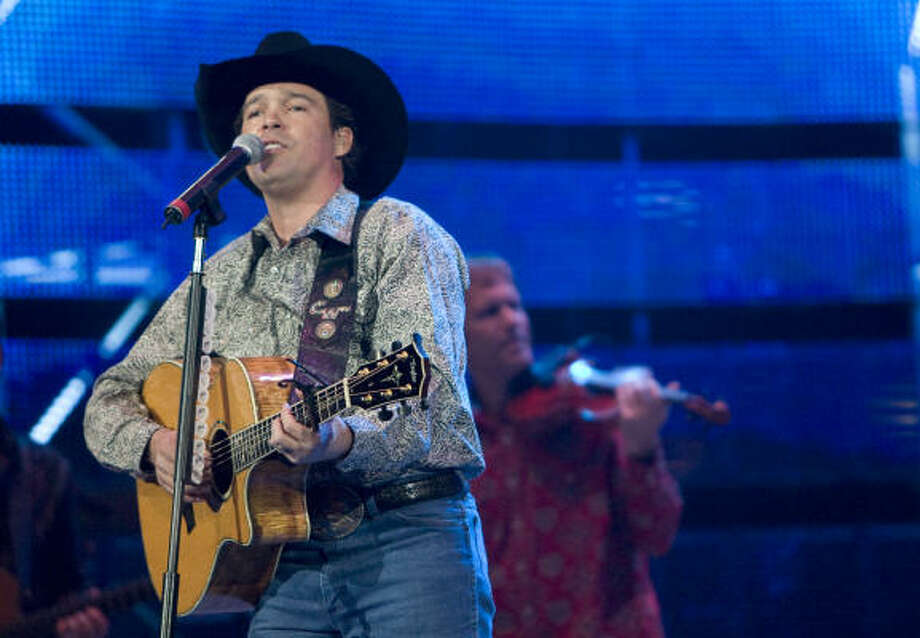 Clay Walker (March 1) Photo: Steve Campbell, Houston Chronicle