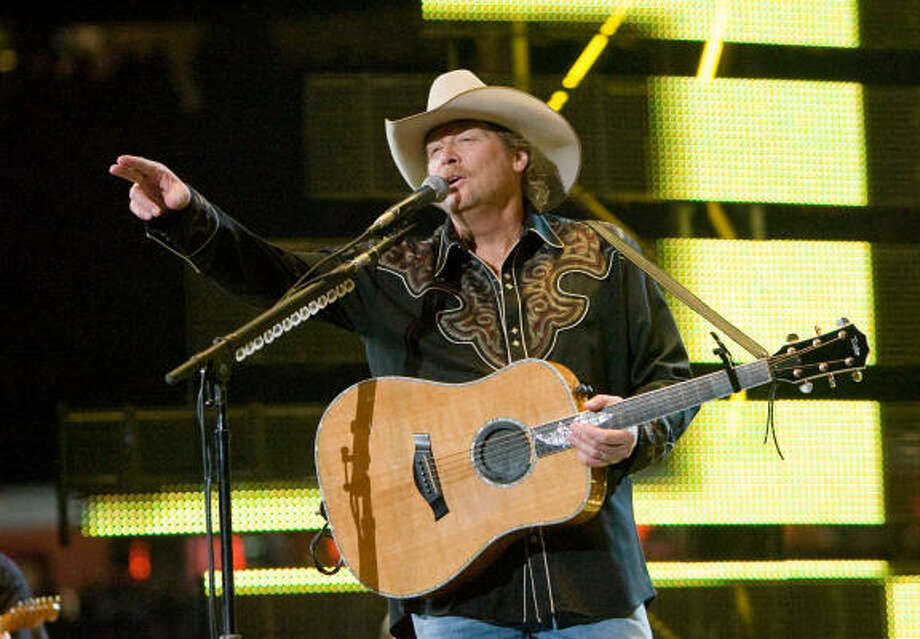 Alan Jackson (March 18) Photo: Steve Campbell, Houston Chronicle