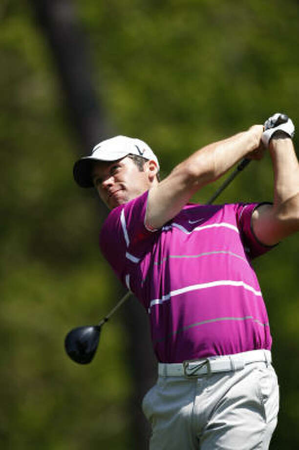Defending champion Paul Casey said he was drawn to the Shell Houston Open by its resemblance to Augusta. Photo: Johnny Hanson, Chronicle