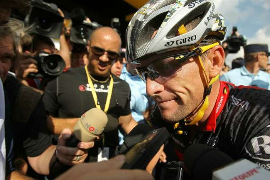 Lance Armstrong's skeptics are many, but there's never been any evidence the seven-time Tour de France winner used performance-enhancing drugs. Photo: Spencer Platt, Getty Images