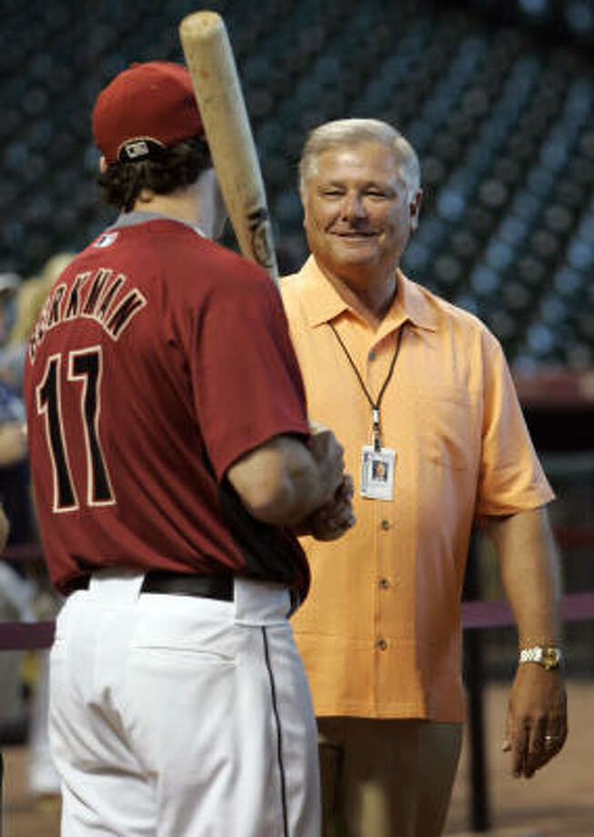 Gerry Hunsicker was the architect of five playoff teams and acquired virtually all the talent for the 2005 team that won the National League pennant a year after he left. Photo: Johnny Hanson, Chronicle
