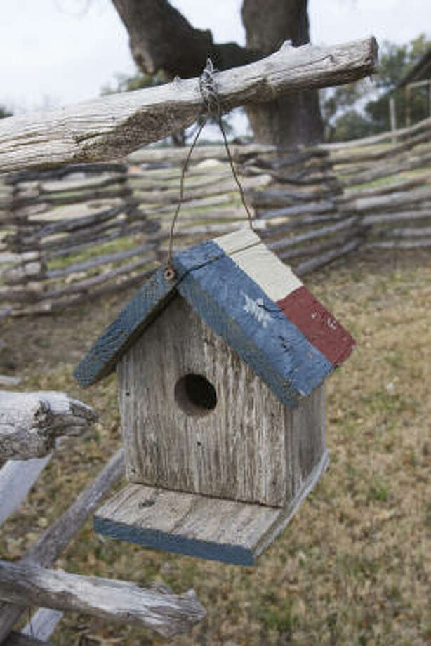 Cavity nesting birds will nest in a man-made nest box if it fits their needs just right.  Paint and ornamentation should be kept to a minimum.  use. Photo: Kathy Adams Clark