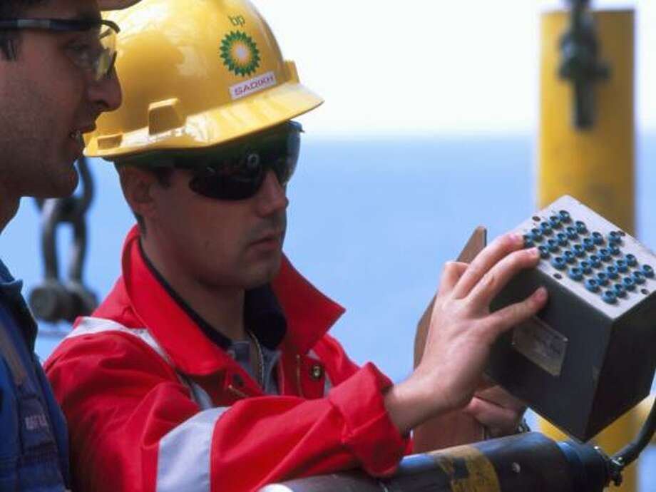 BUILDING THE FUTURE: Engineers who work in the offshore industry often work with a team on complex projects that can take five or six years to develop and complete.