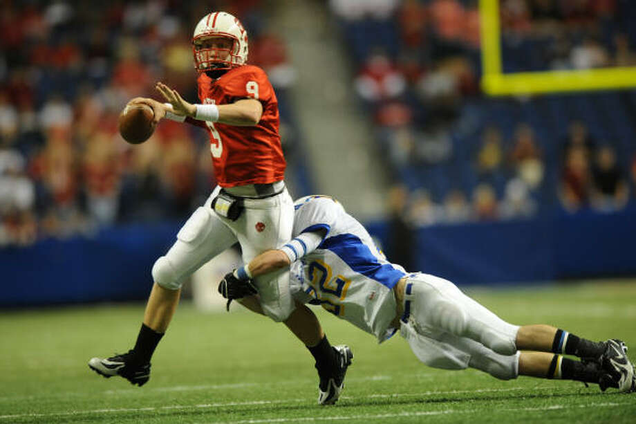 Bo Levi Mitchell guided Katy to a state title before beginning his college career at SMU. Photo: Chronicle File Photo