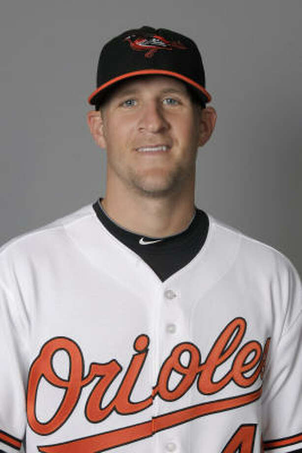 Baltimore Orioles pitcher Troy Patton, a former Astro, was arrested Sunday on suspicion of driving while intoxicated. Photo: Kathy Willens, AP