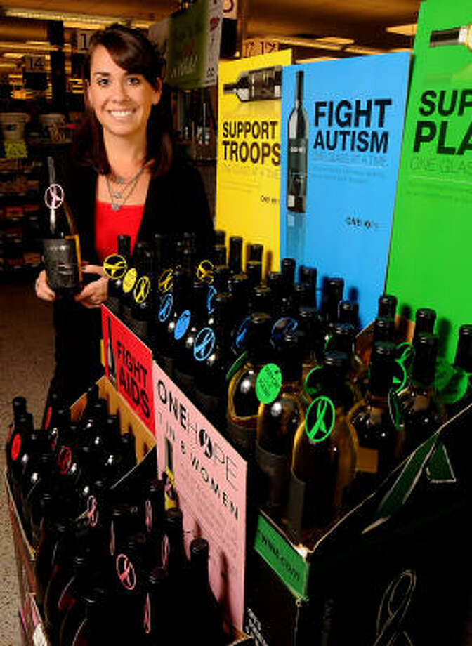 Libby Congelliere of ONEHOPE Wine Photo: Dave Rossman, For The Chronicle