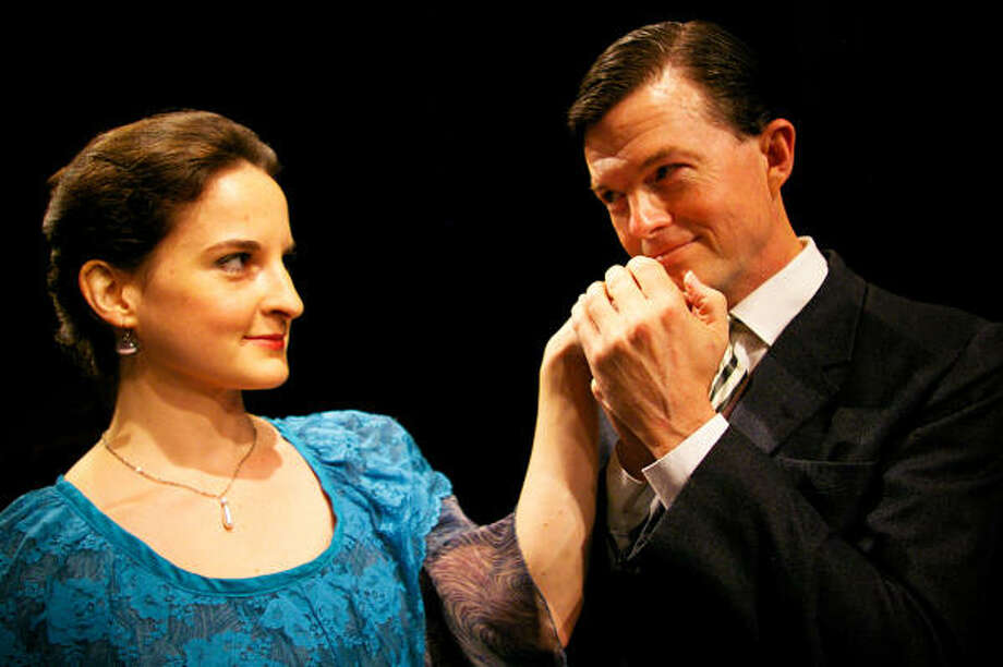 Beth Hopp and Joel Sandel star in Main Street Theater's season-opening production of Shaw's classic The Doctor's Dilemma, which begins previews Saturday. Photo: Courtesy Photo