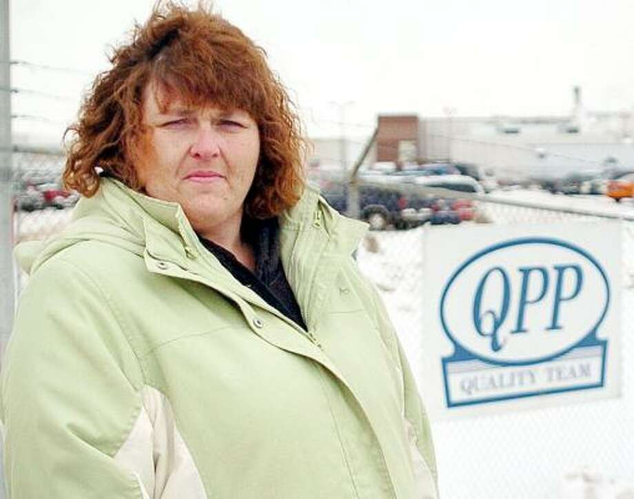 Former Quality Pork Processors Inc. employee Susan Kruse is one of 11 workers who have experienced a rare illness. Photo: ERIC JOHNSON, AUSTIN DAILY HERALD